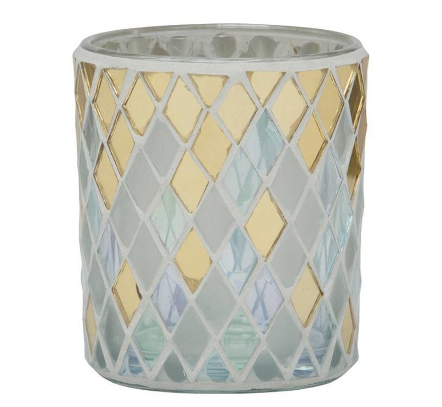 Celebrate Mosaic Votive Holder