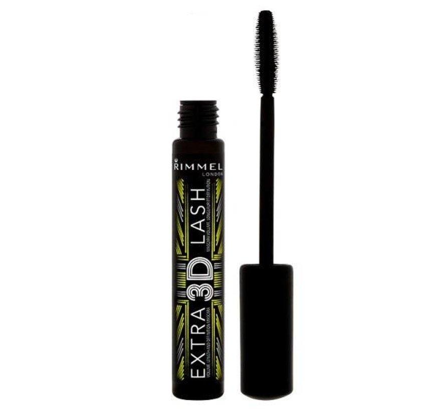 Extra 3D Lash Mascara - Extreme Black 8ml