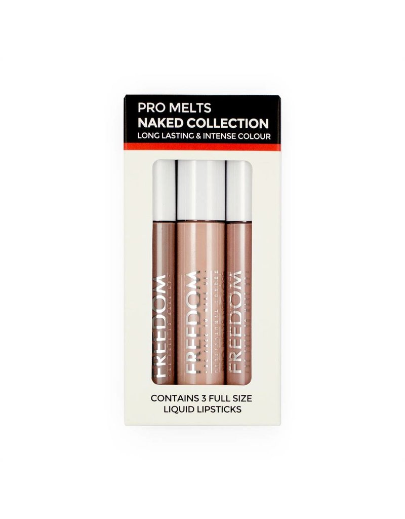 Freedom Makeup Pro Melts Naked Collection
