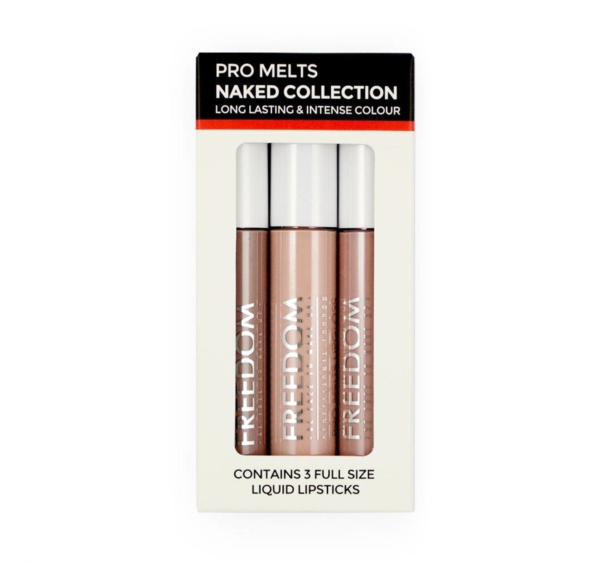 Pro Melts Naked Collection