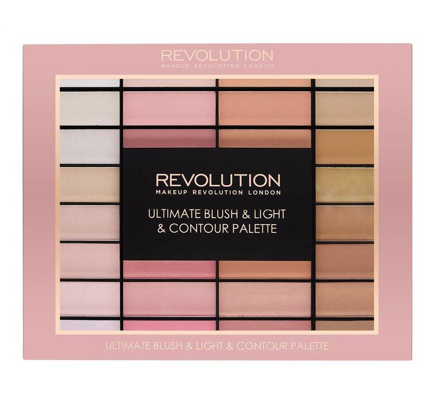 Ultimate Blush, Light & Contour Palette