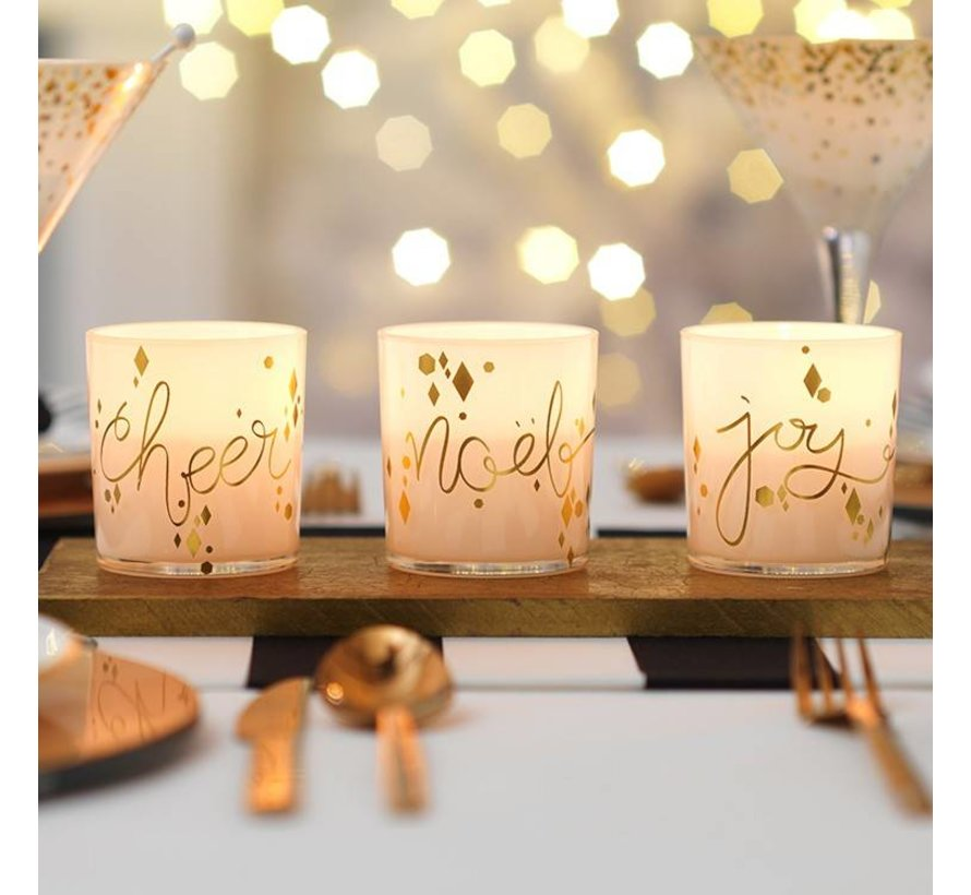 Noel Votive Holder