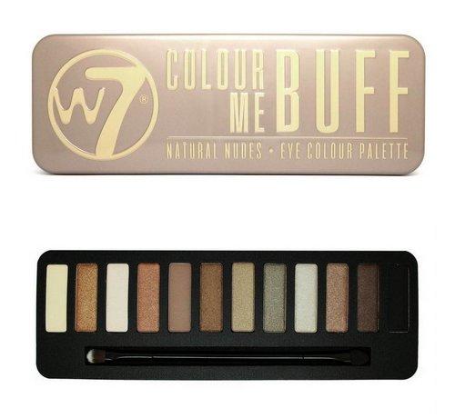 W7 Make-Up Colour Me Buff Eye Palette - Oogschaduw