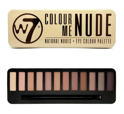W7 Make-Up Colour Me Nude Palette - Oogschaduw