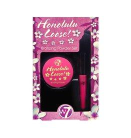 W7 Make-Up Honolulu Loose Bronzing Powder Set