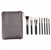 Brush Set 8 Piece Metallic Black