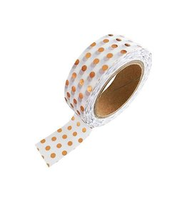 Stationery Masking Tape - Koper Dots