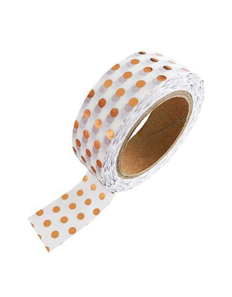 Stationery Masking Tape - Koper Dots