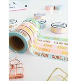 Stationery Masking Tape - I'll Do That Later