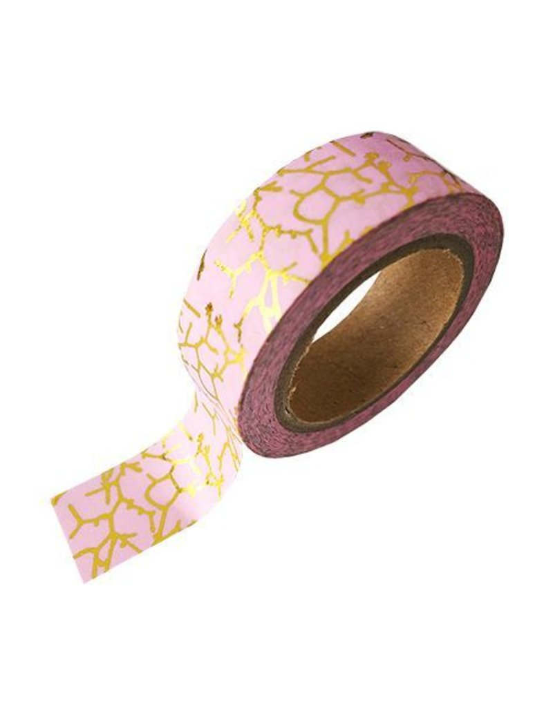 Stationery Masking Tape - Pink Marble