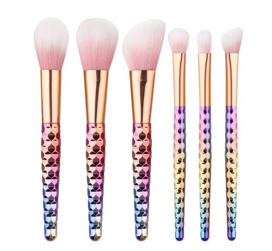 Brush Set - Life In Multicolour 6 PC
