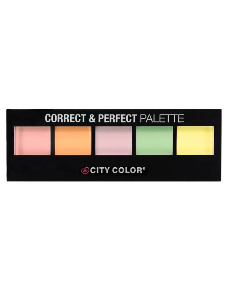City Color Cosmetics Correct & Perfect Palette
