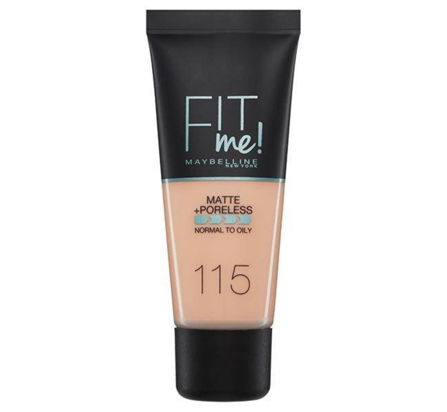 Fit Me Foundation - Ivory 115