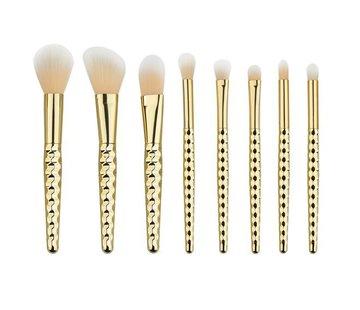Brush Set - Golden Honey 8 PC