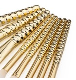 Brush Set - Golden Honey 8 PC