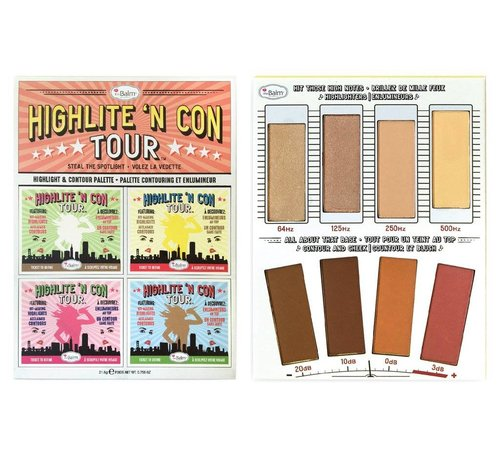 theBalm Highlite 'N Con Tour - Highlight & Contour Palette