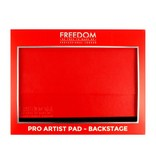 Freedom Makeup Pro Artist Pad - Backstage Red