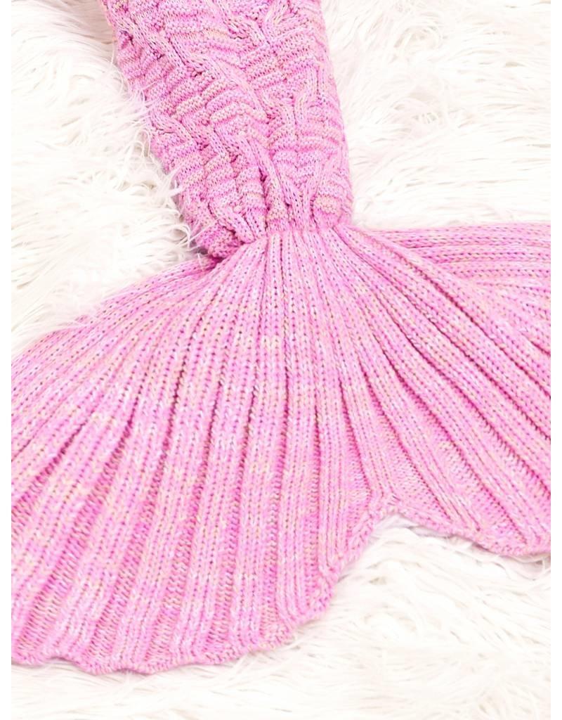 Mermaid Blanket - Pastel Roze
