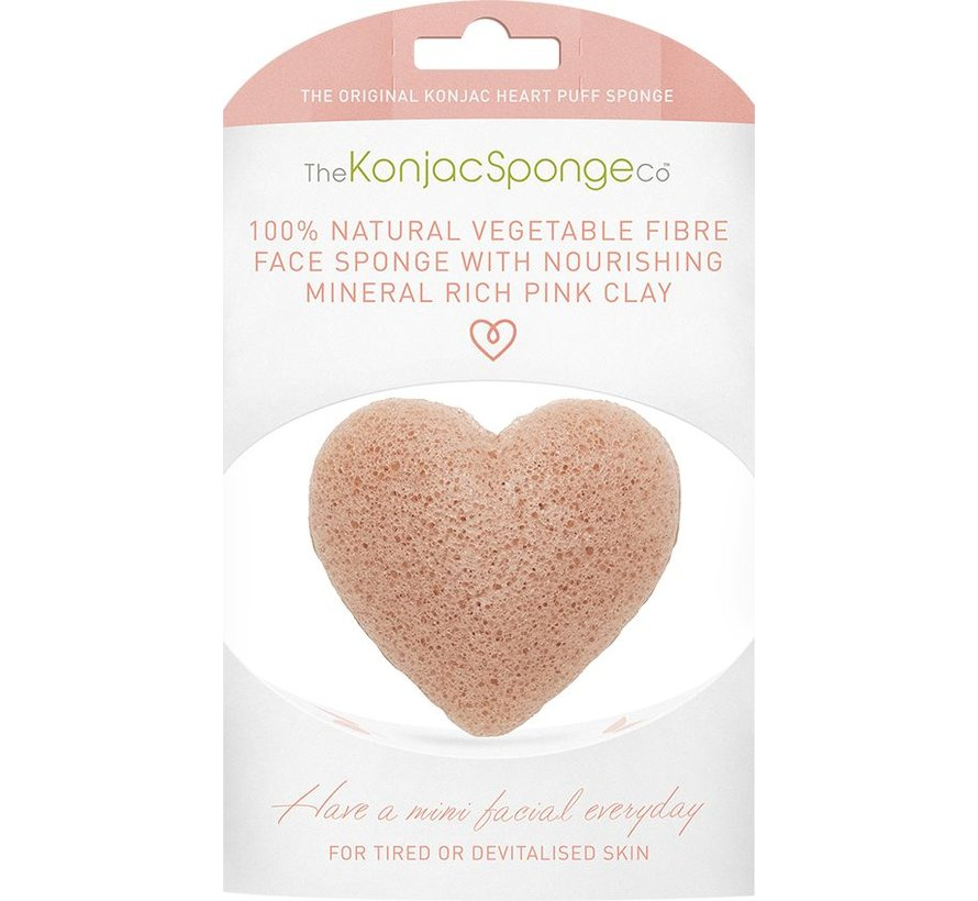 Heart Puff Pink Clay