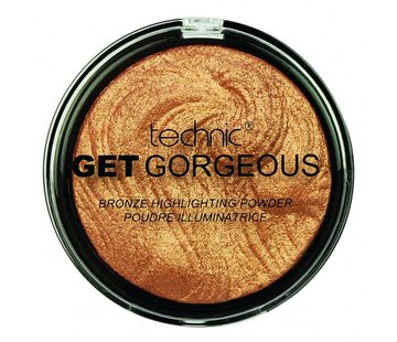 Technic Get Gorgeous Highlighter - 24CT Gold