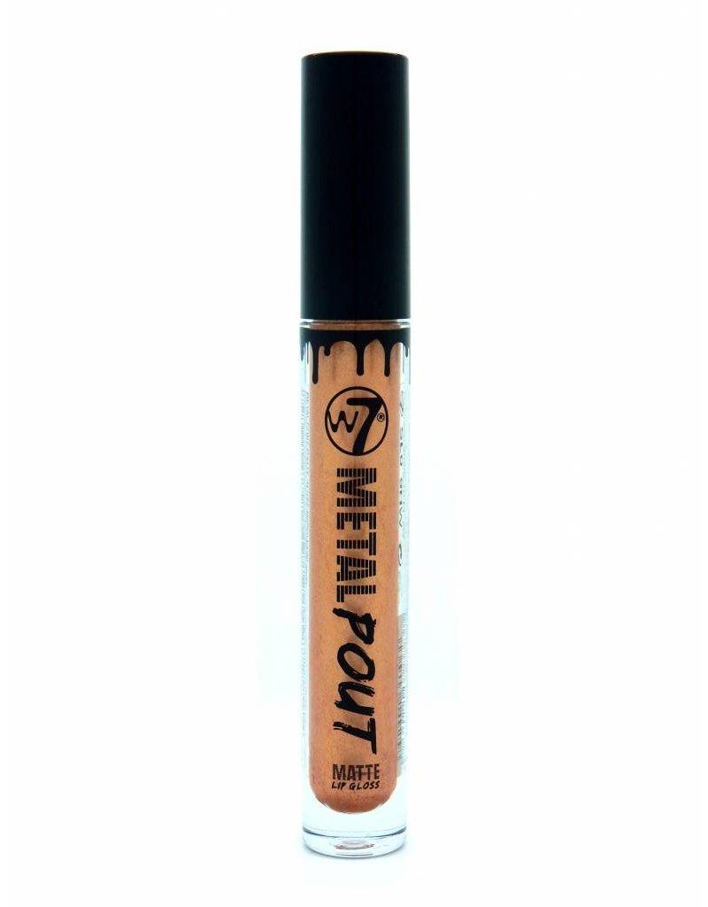 W7 Make-Up Metal Pout Matte Lips - Molten Lava
