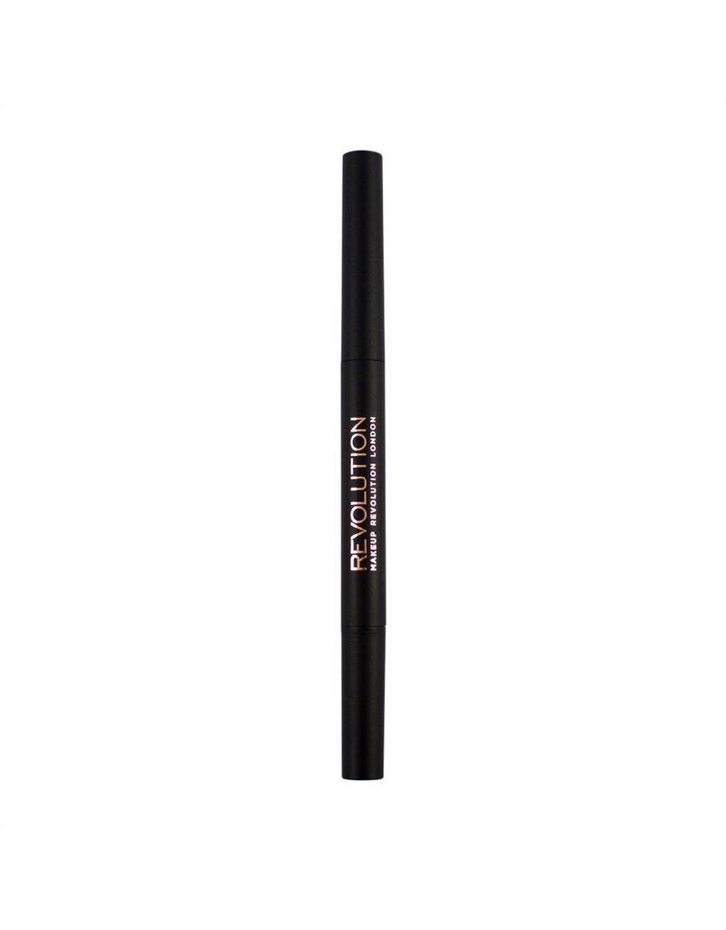 Makeup Revolution Duo Brow Pencil - Light Brown