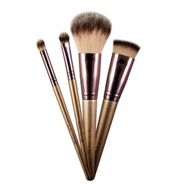 Makeup Revolution Champagne Brushes & Holder