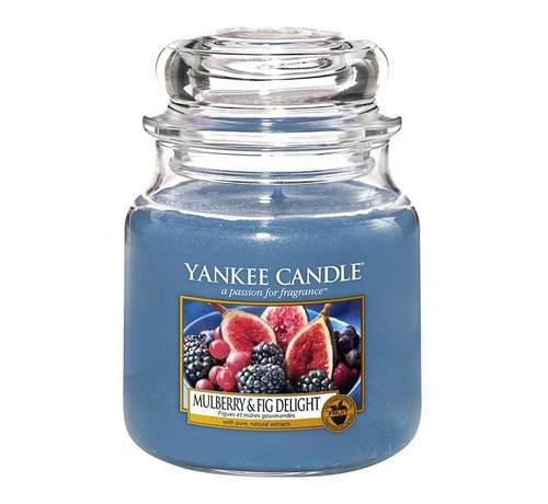Yankee Candle Mulberry & Fig Delight - Medium Jar