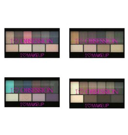 Makeup Revolution I Heart Obsession Palettes Bundel