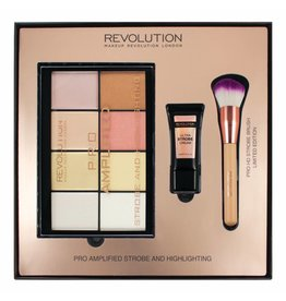 Makeup Revolution Amplified Strobe & Highlighting Set