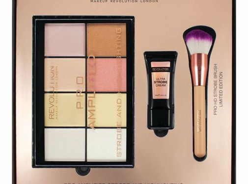 Makeup Revolution Amplified Strobe & Highlighting Set