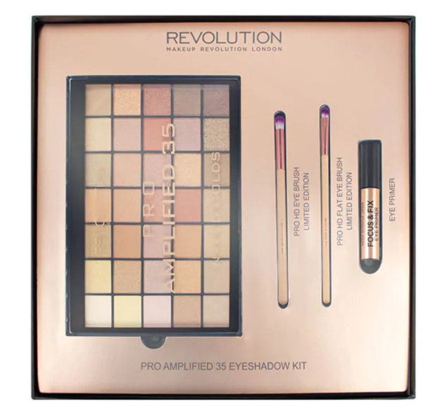 Amplified 35 Eyeshadow Palette Naked Golds