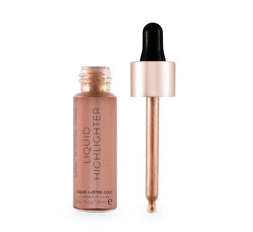 Makeup Revolution Liquid Highlighter - Lustre Gold