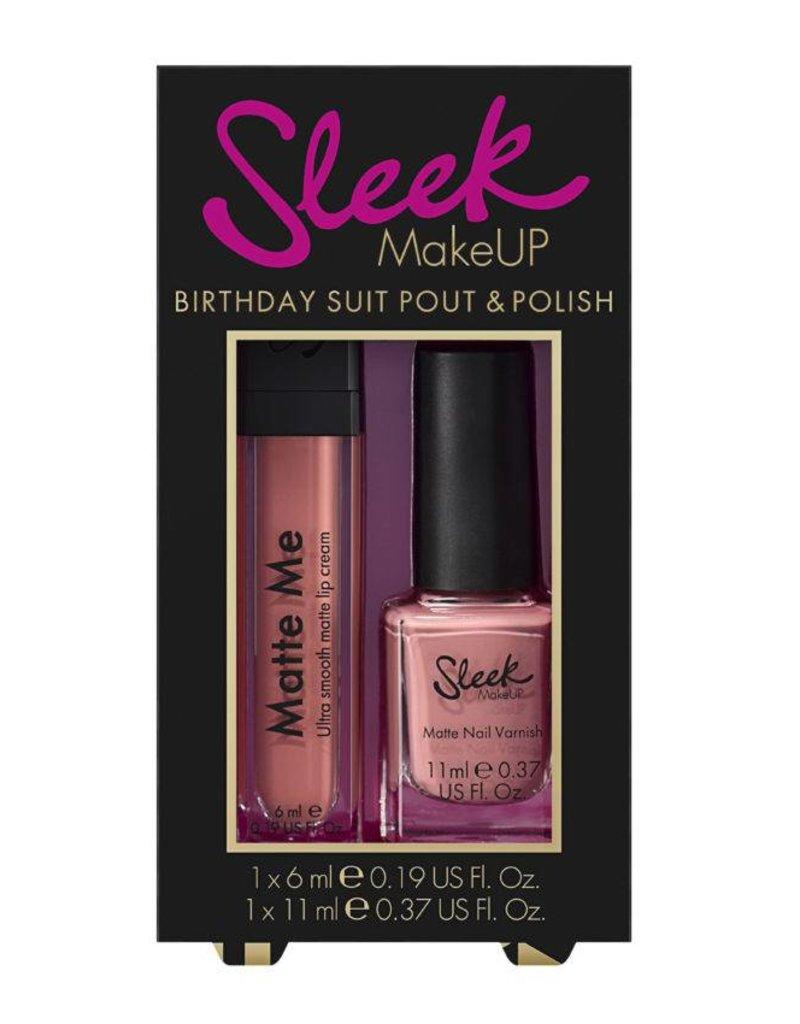 Sleek MakeUP Lip & Nail Duo Birthday Suit