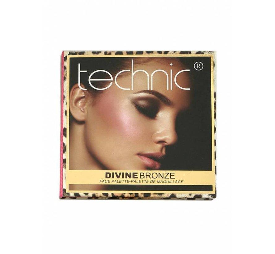Divine Bronze Face Palette