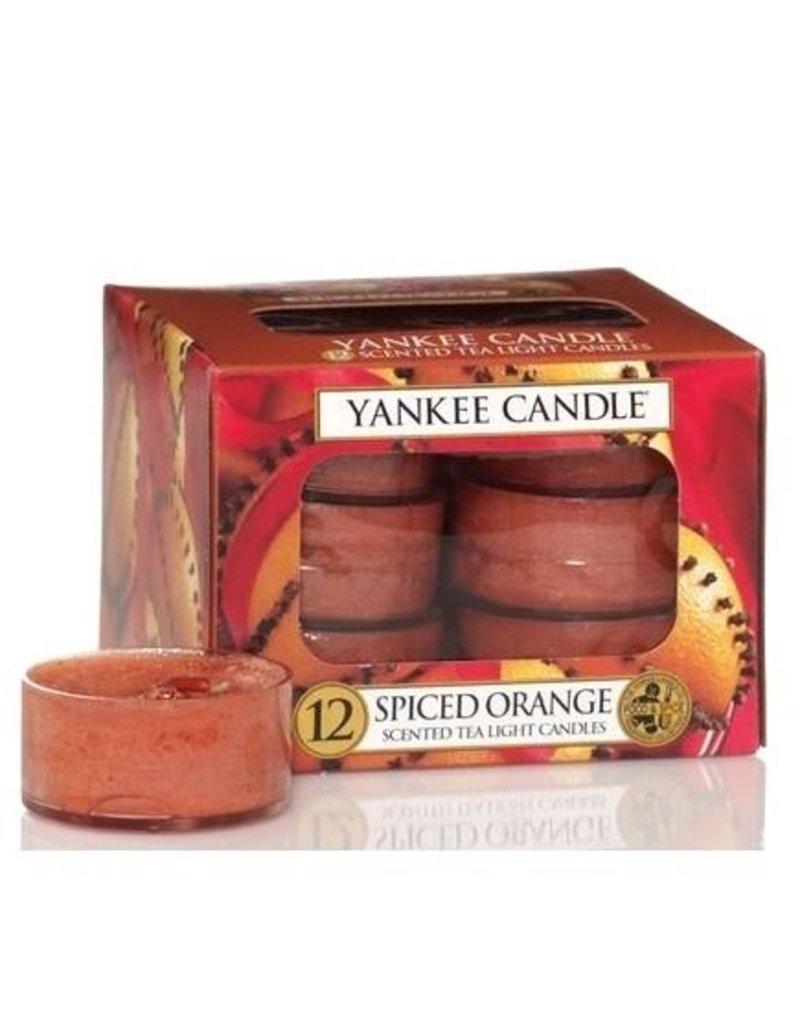Yankee Candle Spiced Orange - Tea Lights