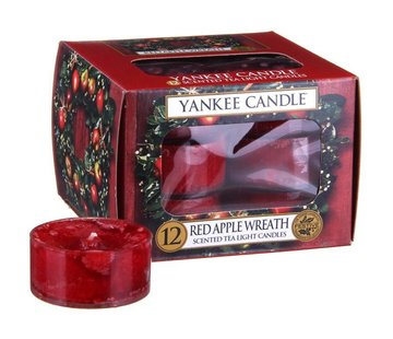 Yankee Candle Red Apple Wreath - Tea Lights