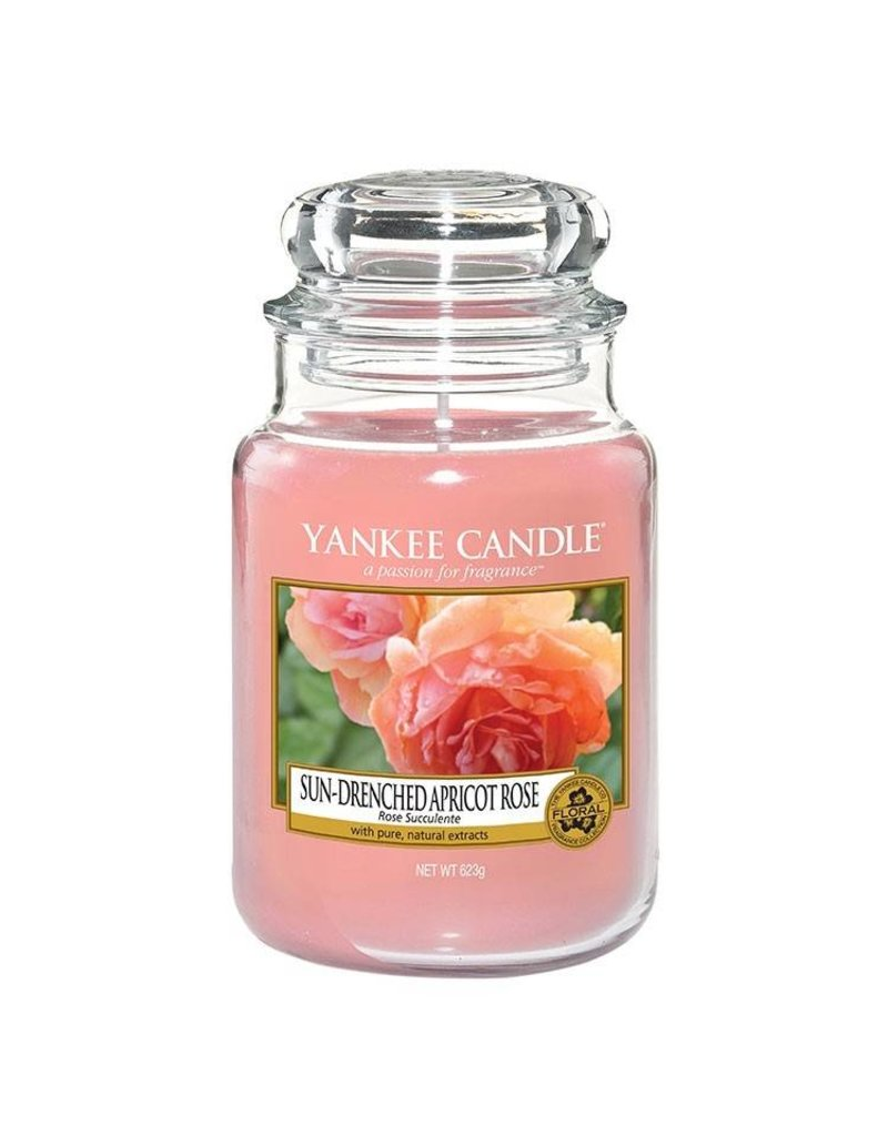 Yankee Candle Sun-Drenched Apricot Rose - Large Jar