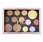 Makeup Revolution HD Pro Palette The Works - Medium/Dark
