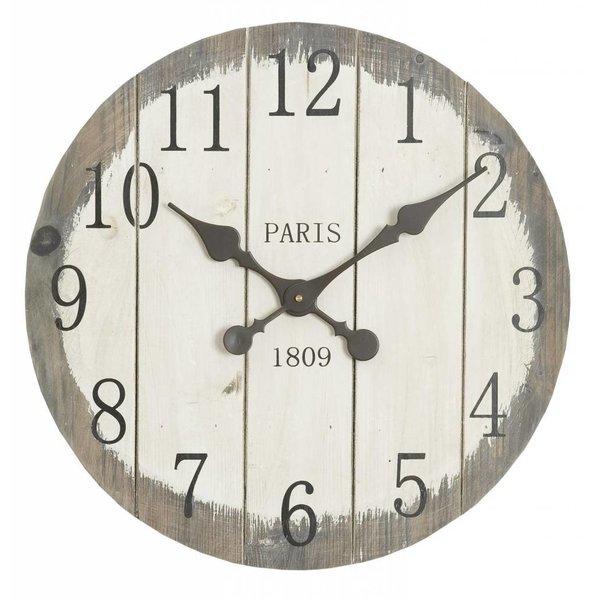 Clayre & Eef Bruine Houten Klok - Paris 1809