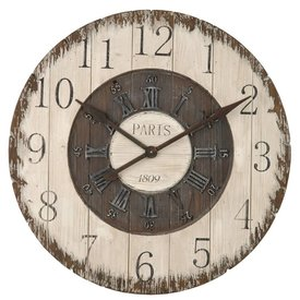 Clayre & Eef Grote landelijke klok - Paris 1809
