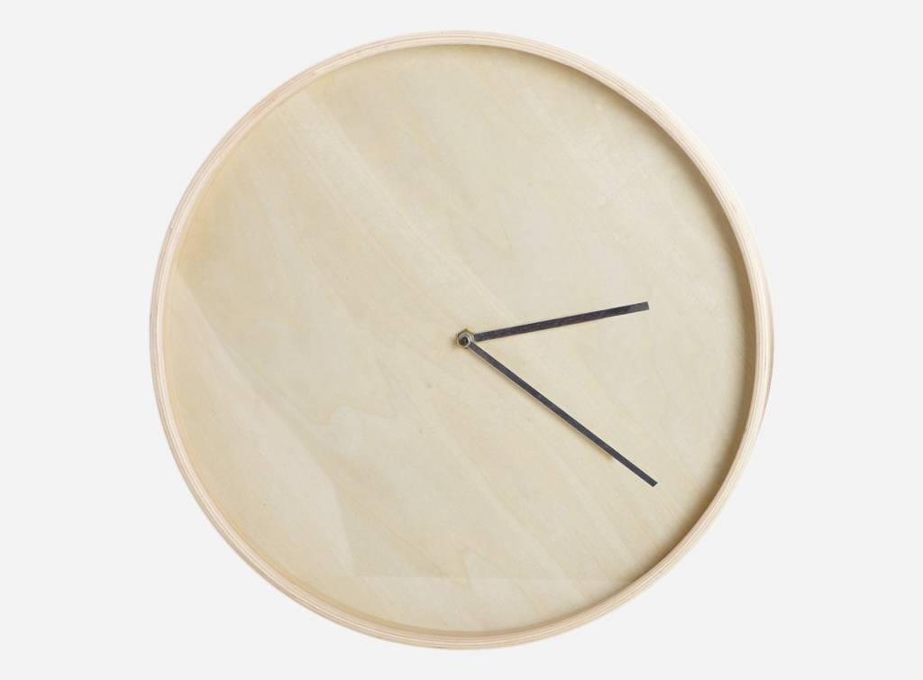 house doctor clock couture wandklok grijs 30 cm house doctor in de aanbieding kopen. Black Bedroom Furniture Sets. Home Design Ideas