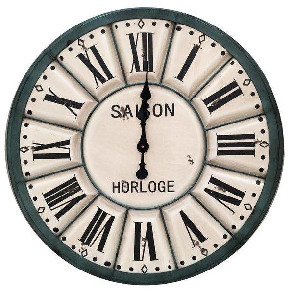 Clayre & Eef Wandklok Saison Horloge - Ø 60 cm