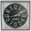 Metalen Wandklok London - 68x68 cm