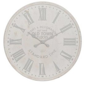 J-Line Wandklok Old Town Clocks - 60 cm