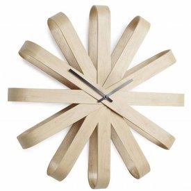 Umbra Ribbon Wood Wandklok