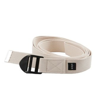 Yoga riem luxe wit