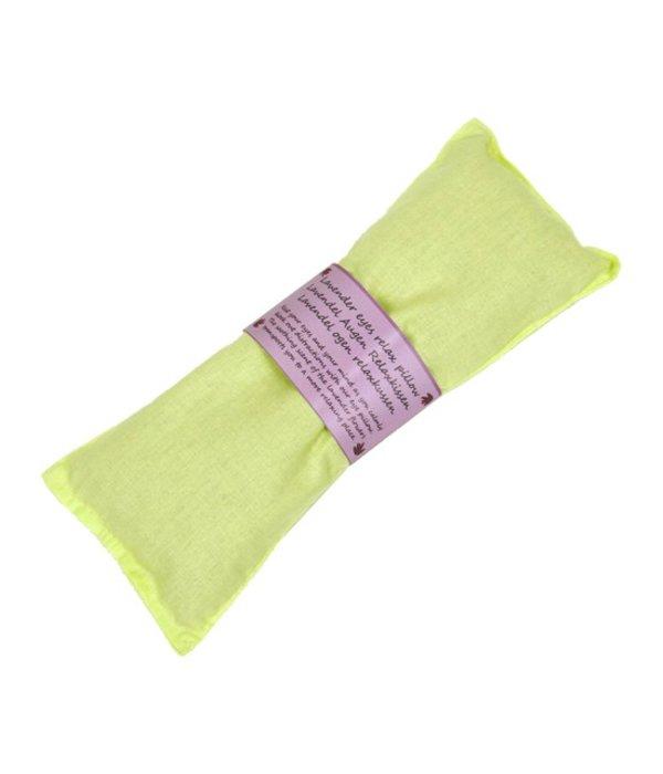 Oogkussen lavendel groen