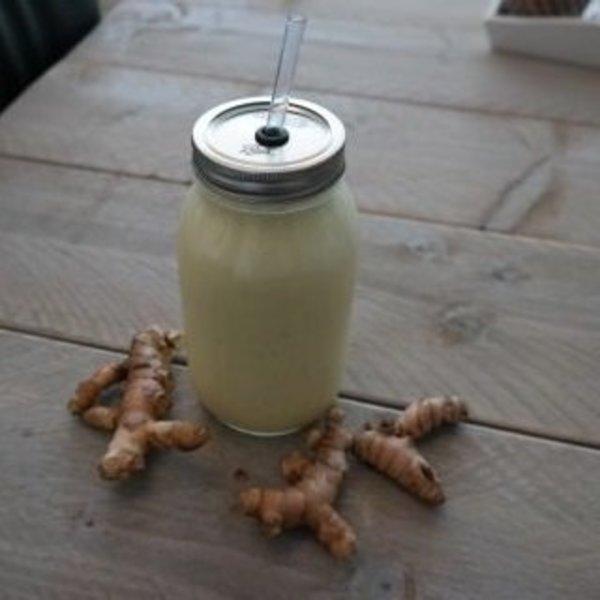 Kruidige kefir smoothie