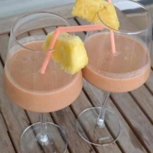 Tropische kokos smoothie